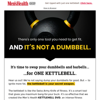 One Kettlebell Does Everything Dumbbells Can Do - and More!