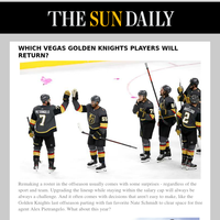 Which Vegas Golden Knights players will return?