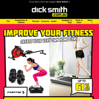 Up to 61% OFF Home Gym Equipment   Improve Your Fitness