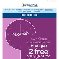 LAST CHANCE. Buy 1 + Get 2 FREE