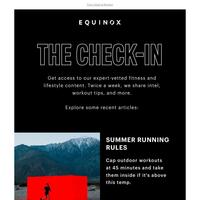 Enlighten your inbox with The Check-In