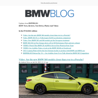 Posts from BMWBLOG for 07/16/2021