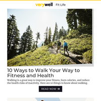 10 Ways to Walk Your Way to Fitness and Health