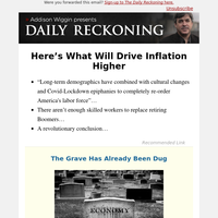 Here's What Will Drive Inflation Higher