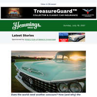 Hemmings Daily: The Audrain Concours explores why the world needed another concours d'elegance