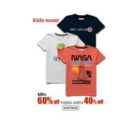 Kids Fashion Wear   Latest Trending Brands - Get 60% OFF + Extra 40% OFF