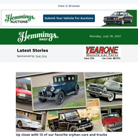 Hemmings Daily: Up close with 12 of our favorite orphan cars and trucks
