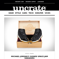 Michael Jordan's Signed Space Jam Sneakers & more