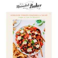 NEW! Heirloom Tomato Panzanella Salad