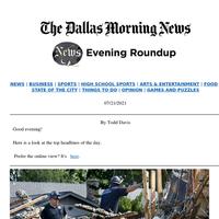 Plano home explosion revisited, Jerry Jones' Cowboys mea culpa, DMN's new executive editor: Your Wednesday evening roundup