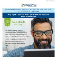 NEW Sale: 20% Off Brain Health Items