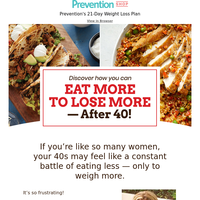The Over-40 Diet for Women Sick of Dieting