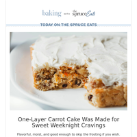One-Layer Carrot Cake Was Made for Sweet Weeknight Cravings