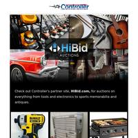Tools, Antiques, Cars & More at HiBid