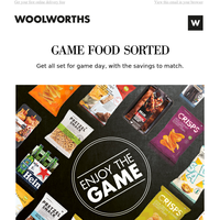 Game snacks sorted – for less! 🙌