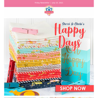 Oh happy day! Brighten yours with Sherri & Chelsi!