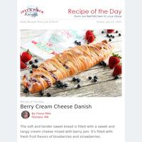 Berry Cream Cheese Danish to Start Your Day