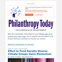 Effort to Fund Racially Diverse Climate Groups Gains Momentum