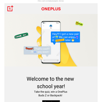 🚌 OnePlus back-to-school bus has arrived 📚