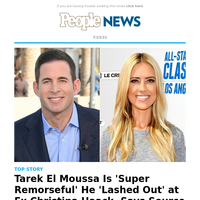 Tarek El Moussa is 'super remorseful' he 'lashed out' at ex Christina Haack, says source