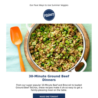 30-Minute Ground Beef Dinners