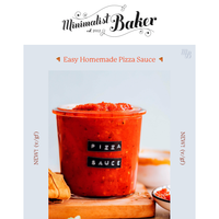NEW! Easy Homemade Pizza Sauce