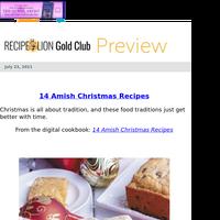14 Amish Christmas Recipes