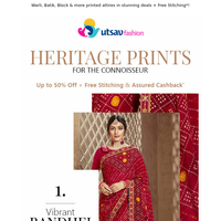 👉The Heritage of Indian Prints