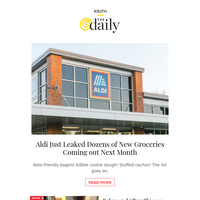 Aldi Leaked New Groceries Launching in August, This 100-Year-Old House Now Has a New Open Concept Kitchen & More from Kitchn