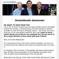 Weekender: A Perfect Pairs Trade as We Enter… a Bear Market?!