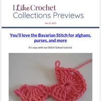 Learn a New Stitch! Bavarian Crochet Tutorial