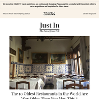 The 10 Oldest Restaurants in the World