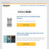 Up to 38% off on LILLEbaby Baby Carriers
