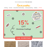 Did someone say 15% off Christmas in July?!