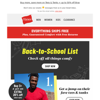 Ready for Back-to-School? Start shopping now & ship it all free!