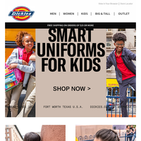 Shop Back To School Uniforms & More