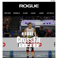 Rogue Fitness at the 2021 NOBULL CrossFit Games