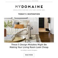 5 living room design mistakes that make experts cringe