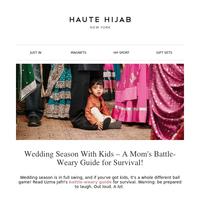 😂 A mom's guide to surviving wedding season!