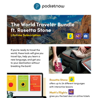 You Need This Bundle If You've Been Bitten By the Travel Bug