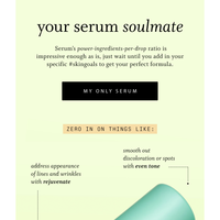 You can get rid of your other facial serums now