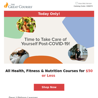 All Health, Fitness & Nutrition Courses for $50 or LESS