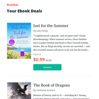 Your ebook bargains for Monday