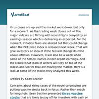 MarketBeat: Week in Review 7/18 – 7/25