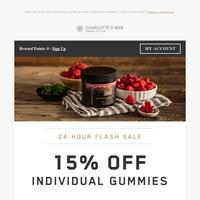 ⚡️15% Off Gummies Flash Sale⚡️