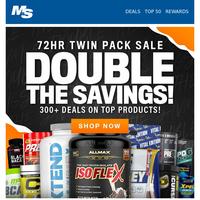 72hr Twin Packs Sale