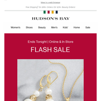 FLASH SALE: Up to 50% Off Accessories