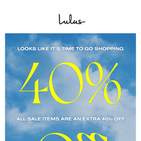 It's Happeninggg: Our SALE Is on SALE!