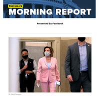 The Hill's Morning Report - Presented by Facebook - 1/ Pelosi names Trump antagonist GOP Rep. Kinzinger to Jan. 6 select committee. 2/ Senate negotiators close in on a bipartisan infrastructure deal. 3/ Fauci: US coronavirus battle 'going in the w