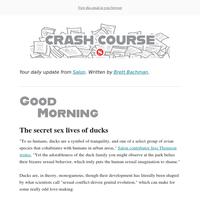 Crash Course: Duck sex is weird